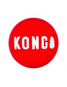 Juguetes para perros KONG pelota roja