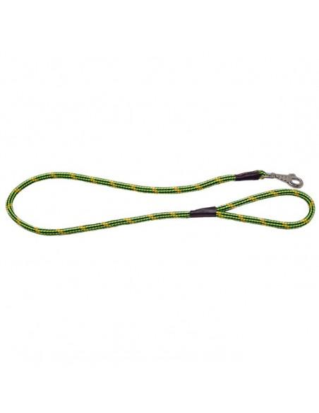 Correa para perro cordón tipo cuerda verde