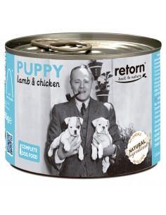 Lata comida cachorro Retorn cordero pollo