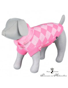 Jersey punto modelo DOG PRINCESS color rosa