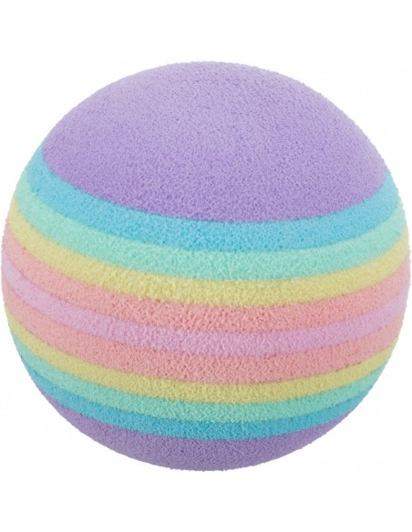 Juguete para gato, pelotas arco iris