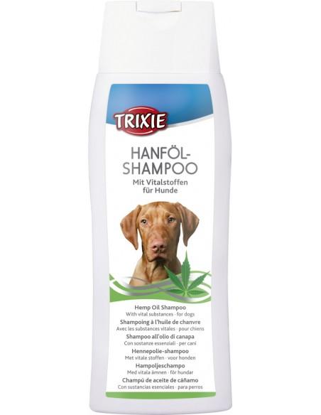 Champú para perros de aceite de cáñamo