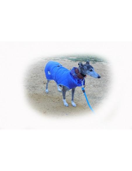 Correa para perro cordón tipo cuerda gruesa azul