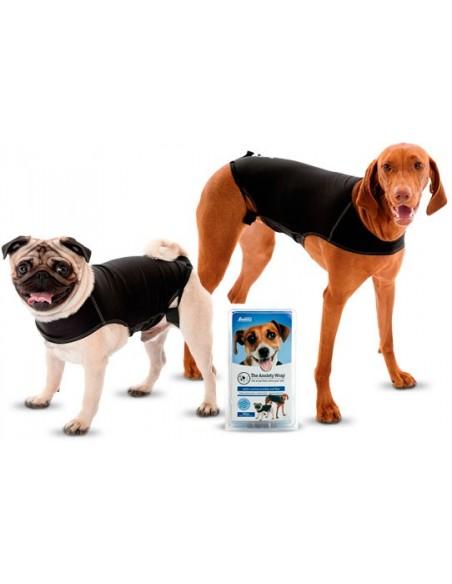 Camiseta antiansiedad para perro