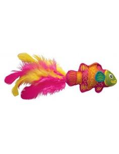Juguete para gato pez tropical