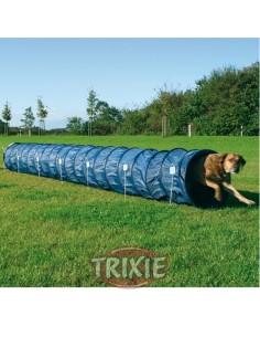 Túnel de agility para perros