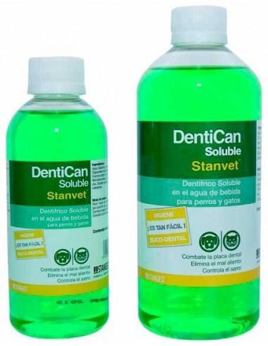 Dentican dentifrico soluble para perros y gatos