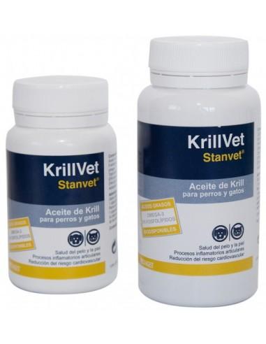 KRILLVET complemento nutricional de aceite de krill para perros y gatos