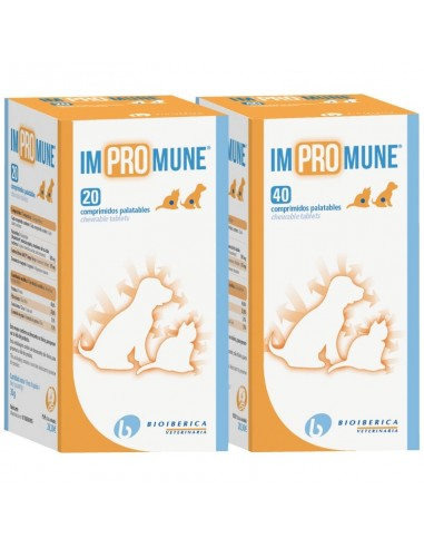IMPROMUNE complemento alimentario para optimizar la respuesta inmune en perros y gatos