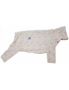 Pijama para piccolo de felpa, pingüinos rosa
