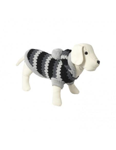 Jersey punto modelo tricot color grises