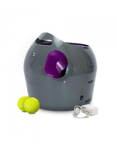 Lanzador automático de pelotas para perro