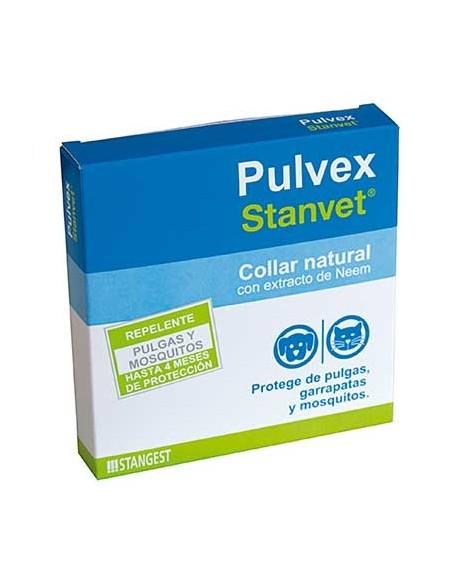 Pulvex collar antiparasitario natural ecológico con extracto de Neem
