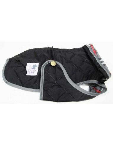 Abrigo Impermeable Acolchado para Piccolo negro