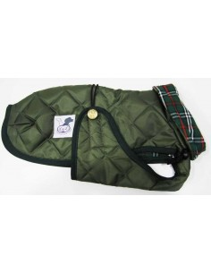 Abrigo Impermeable Acolchado para Piccolo verde
