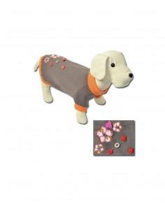 Sudadera para perro modelo Flores Mágicas