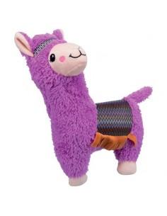 Juguete para perro en materiales suave, modelo alpaca