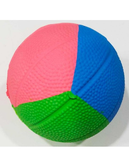 Juguetes para perros pelota maciza caucho natural multicolor
