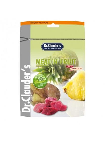 Snacks para perro de pollo y piña del Dr Clauders