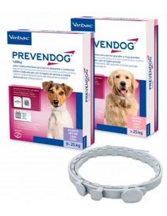 Collares antiparasitarios para perros Prevendog
