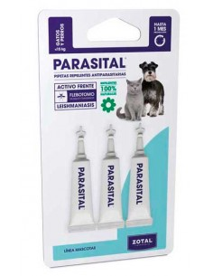 Antiparasitarios para perros pipetas repelentes PARASITAL