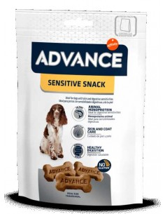 snack perro advance sensitive