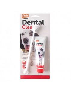Accesorios para perros - cepillo de dientes + pasta dentífrica