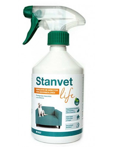 stanvet life spray antiparasitario perro