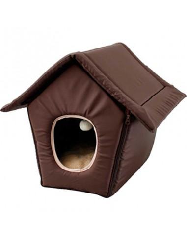 casa plegable para gato