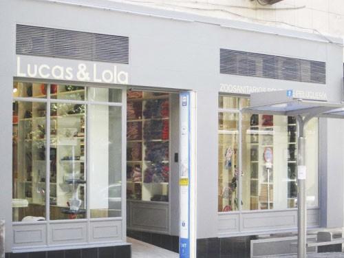 Tienda Lucas & Lola | Entrada a tienda